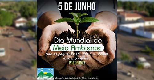 Prefeitura de Dois Irmãos reforça importância da preservação do Meio Ambiente