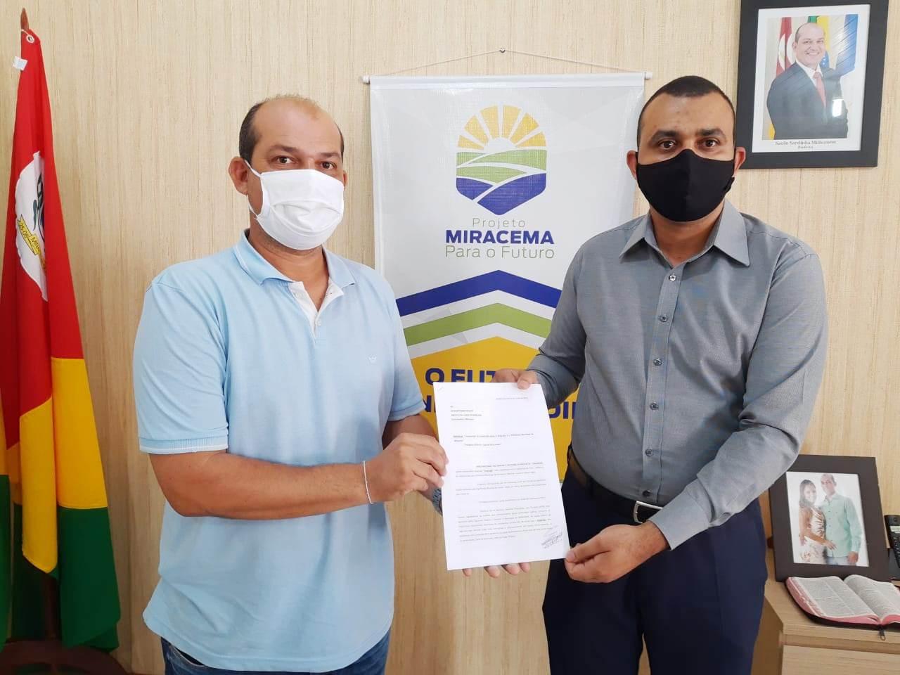 Covid-19: Prefeitura de Miracema recebe Termo de Cooperação e proposta de Plano de Funcionamento Seguro de Igreja Evangélica