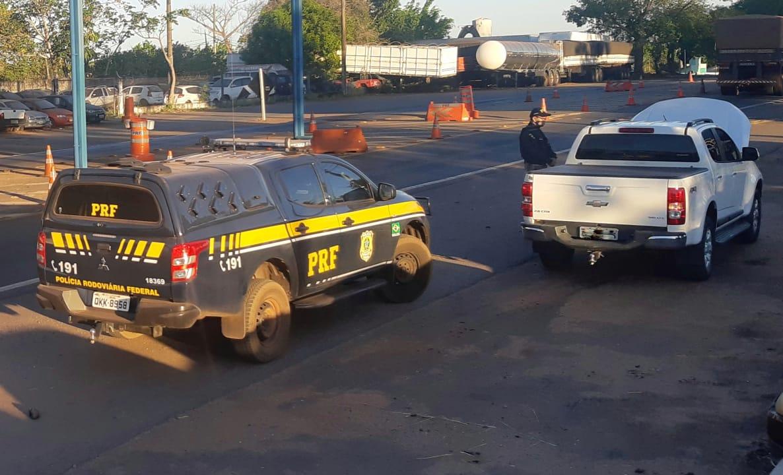PRF recupera veículo furtado em março