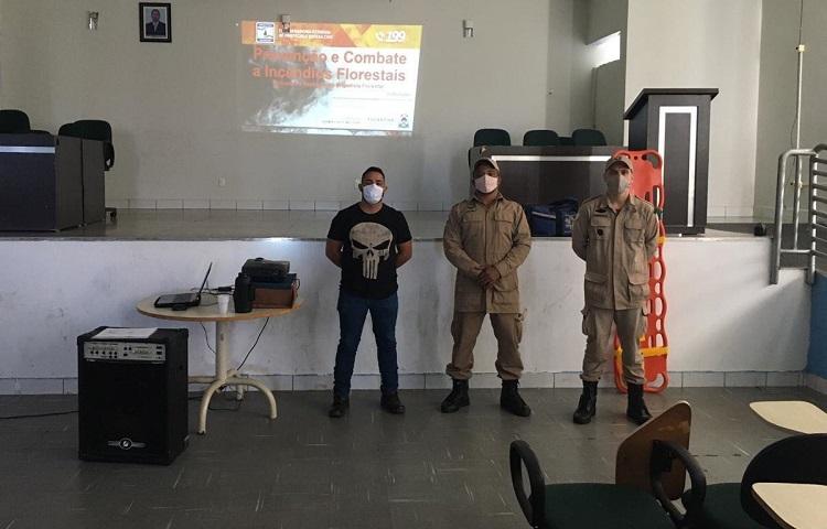 Prefeitura e Coordenação de Meio Ambiente promovem curso para brigadista florestal em Divinópolis