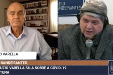 Datena abandona entrevista com Drauzio ao ser informado sobre morte da sogra