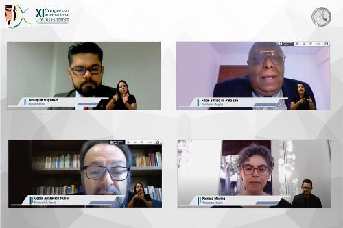 Formação de magistrados na superação de crises e enfrentamento da pandemia são discutidos em quinto Painel do XI Congresso Internacional promovido pela Esmat e UFT