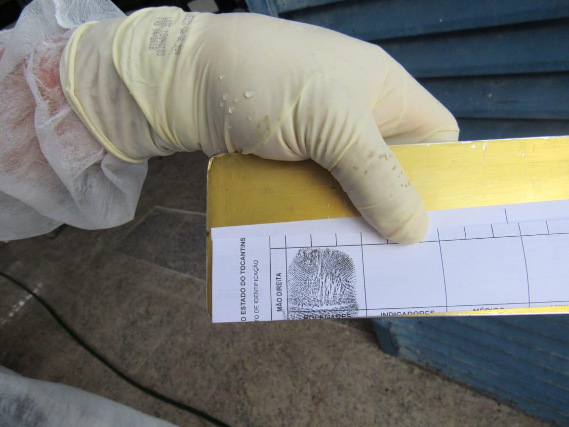 Trabalho de papiloscopistas do Instituto de Identificação resulta na identificação de cadáver e localização de familiares