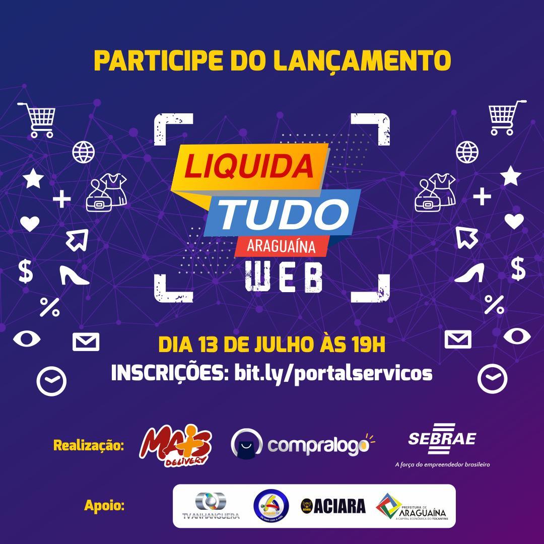 Em parceria com Sebrae, Araguaína terá primeiro evento de vendas 100% online