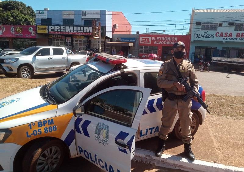 """Polícia Militar realiza operação """"Lago Norte Seguro"""" na capital"""