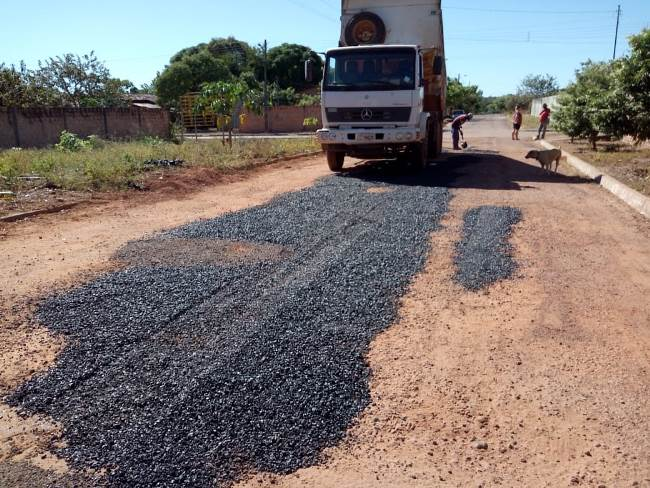 Prefeitura de Dois Irmãos mantém cronograma da operação tapa-buracos
