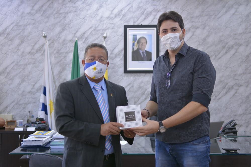Fundador  da La Paglia Doceria busca apoio do Governo do Tocantins para ampliar mercado para seus produtos
