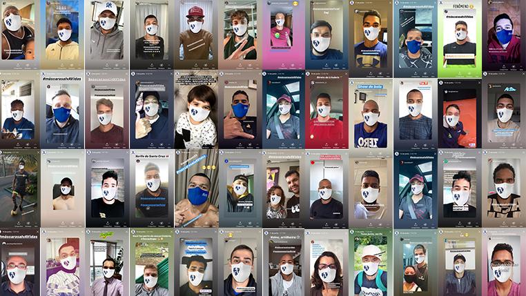 AV Assessoria de Imprensa celebra campanha de conscientização do uso da máscara e lança vídeo comemorativo