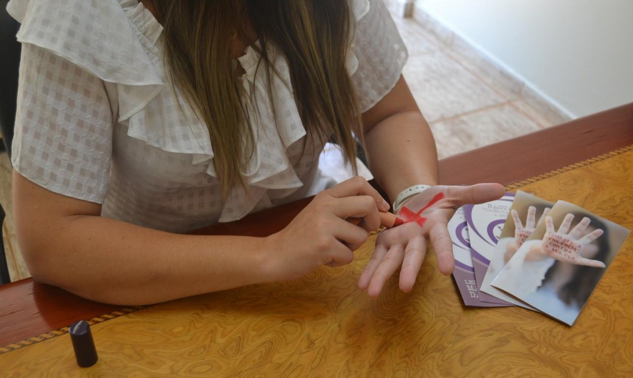 Gerente de políticas de defesa dos direitos da mulher participa de reunião virtual sobre campanha contra violência doméstica