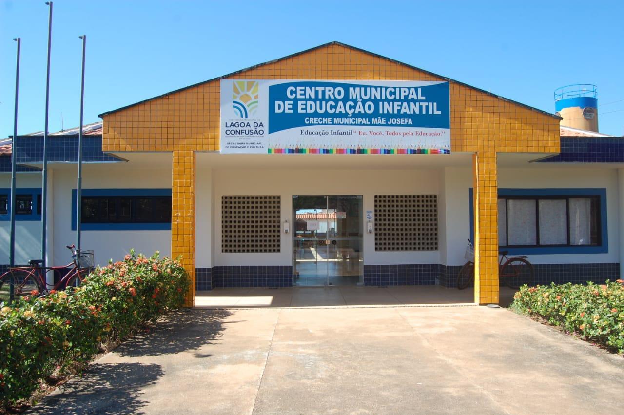CMEI de Lagoa da Confusão passa por reforma e recebe novo mobiliário