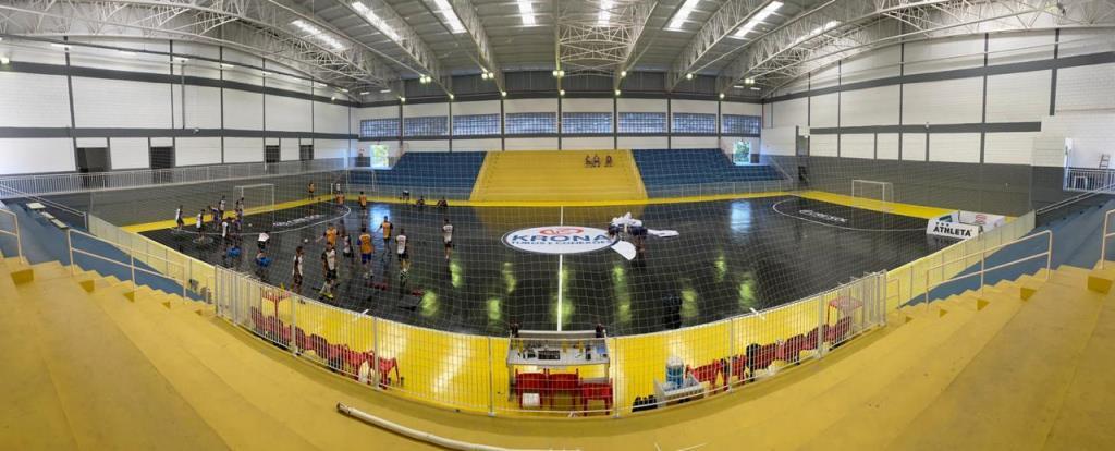 Magnus Futsal faz parceria com a Latem e reforma ginásio em Votorantim