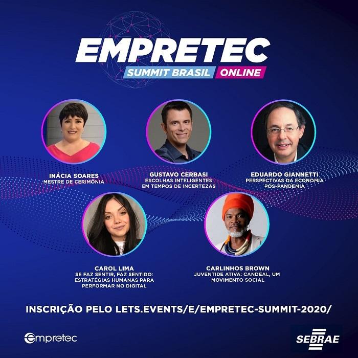 Empretec Summit 2020 irá abordar tendências e perspectivas no pós-pandemia