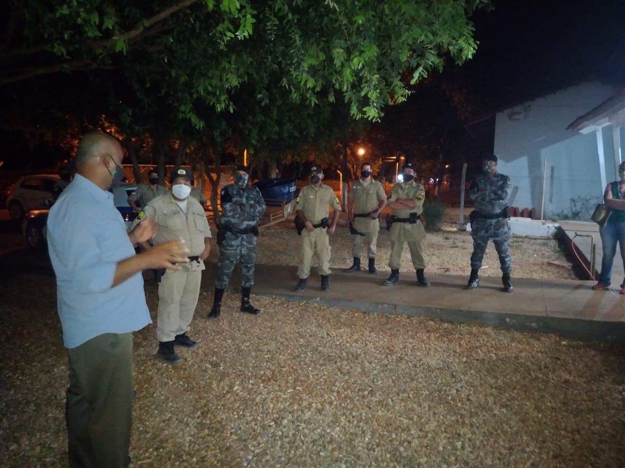 Prefeitura de Porto Nacional reúne forças de segurança para fiscalizar cumprimento do Decreto 379/2020