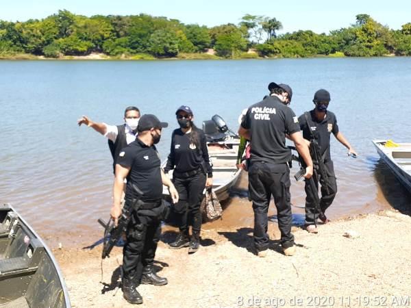 Forças de Segurança realizam operação de prevenção à covid-19 em praia de Arapoema
