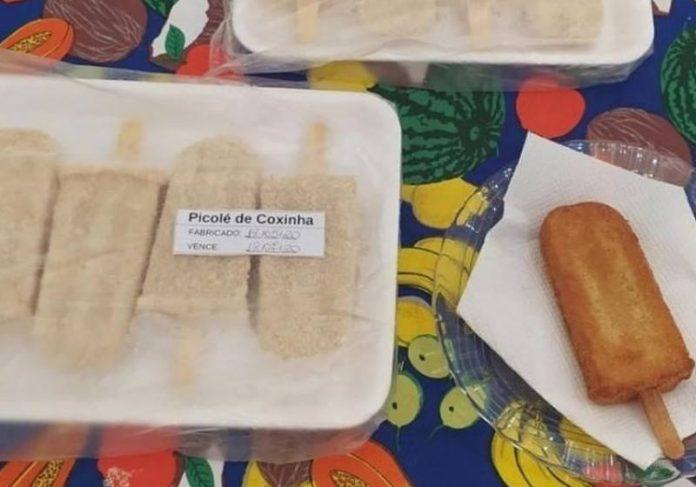 Empresário vende picolé de coxinha e salva negócio durante pandemia; veja receita