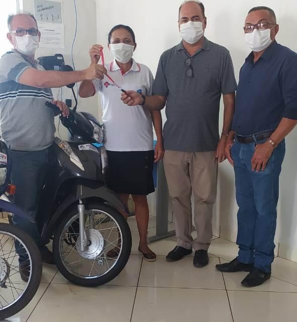 Prefeitura de Fátima adquire duas motocicletas para a Saúde Municipal