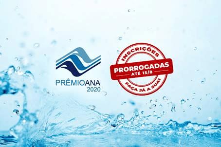Órgãos públicos podem inscrever boas práticas relacionadas à água no Prêmio ANA 2020 até 15 de agosto
