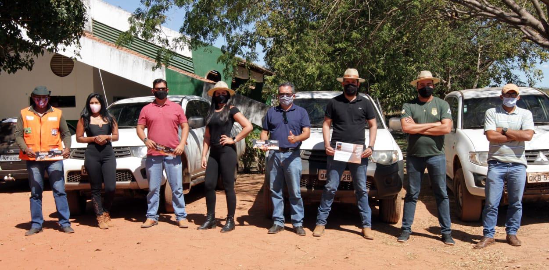 Governo do Tocantins visita mais de 900 propriedades rurais com projeto Foco no Fogo
