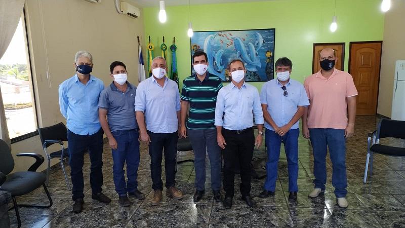 Prefeitos de Lajeado, Dois Irmãos, Barrolândia, Miranorte, Miracema e Tocantínia discutem reestruturação do consórcio intermunicipal CI-Centro