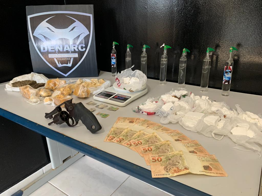 Suspeito por tráfico de drogas é preso pela Polícia Civil em Palmas
