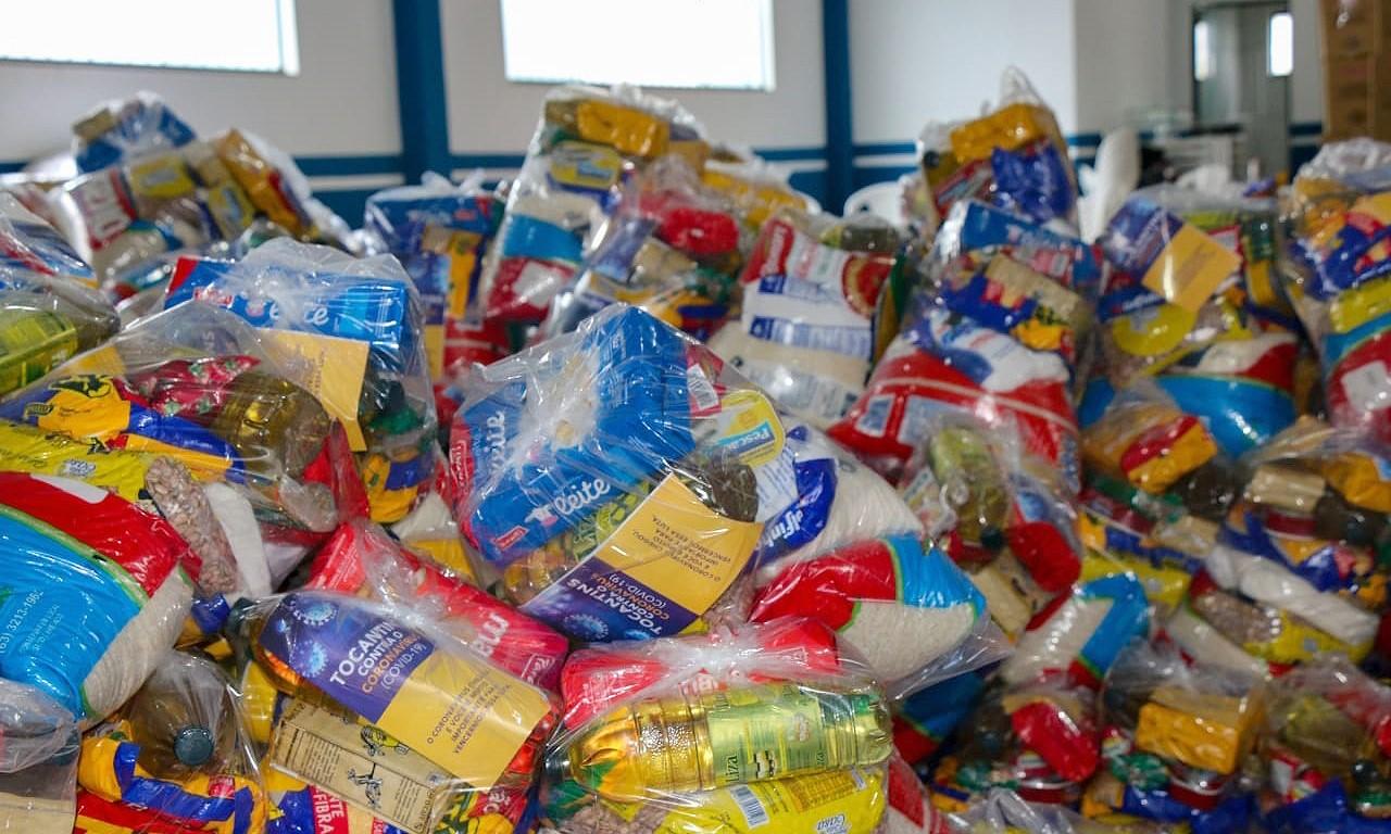 Governo do Tocantins entrega cestas básicas para mais de 560 famílias de assentamentos rurais em nova etapa
