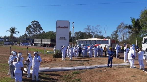 Funcionários saem às pressas de complexo após suposto vazamento de gás em frigorífico de Araguaína