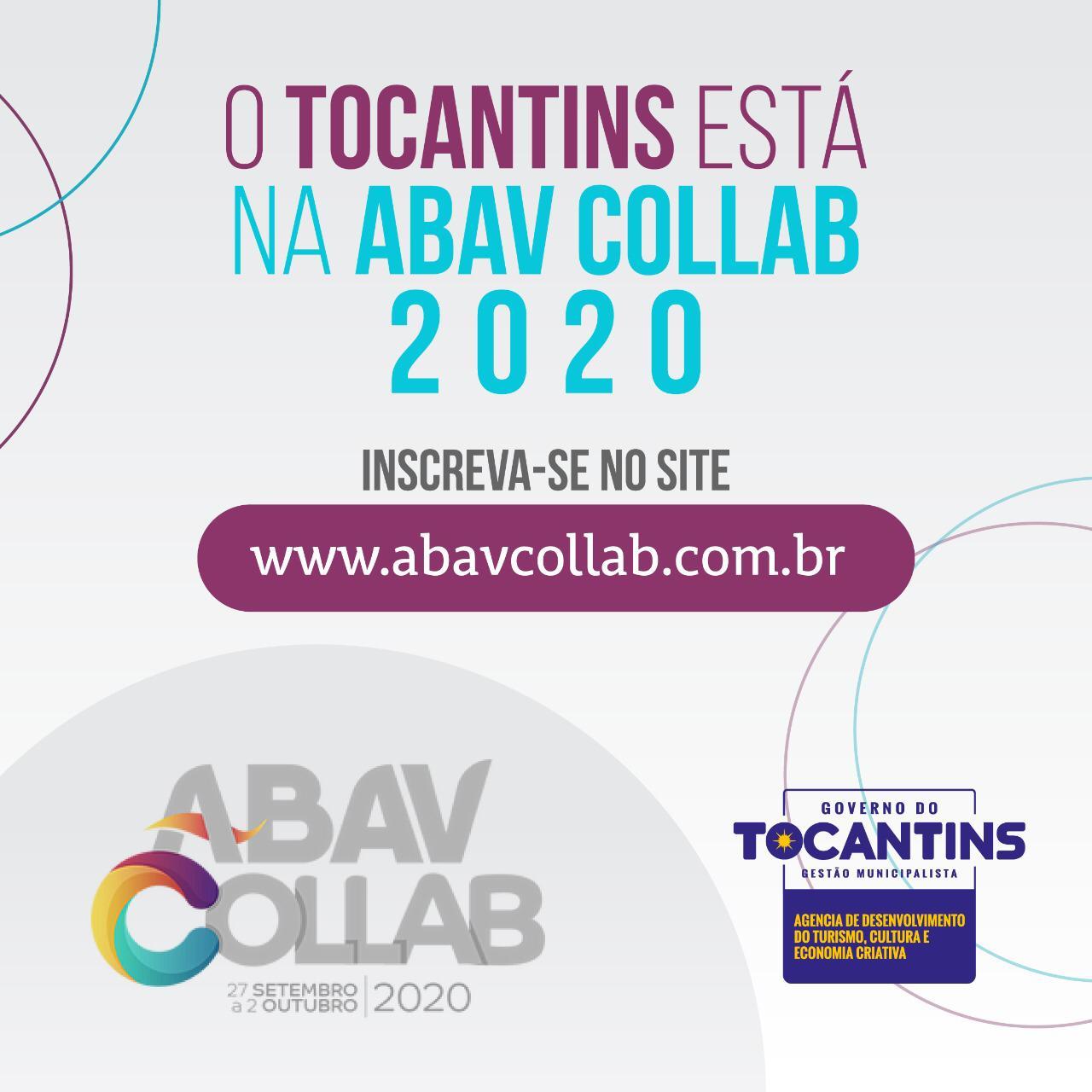 Tocantins participa da Abav Collab 2020
