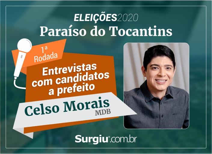Celso Morais participa da 1ª rodada de entrevistas com candidatos a prefeito de Paraíso