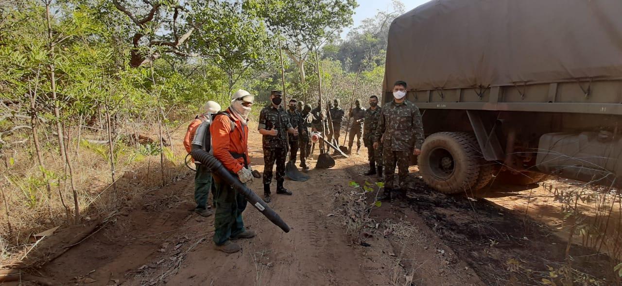 Governo do Tocantins mantém operação de combate às queimadas no estado