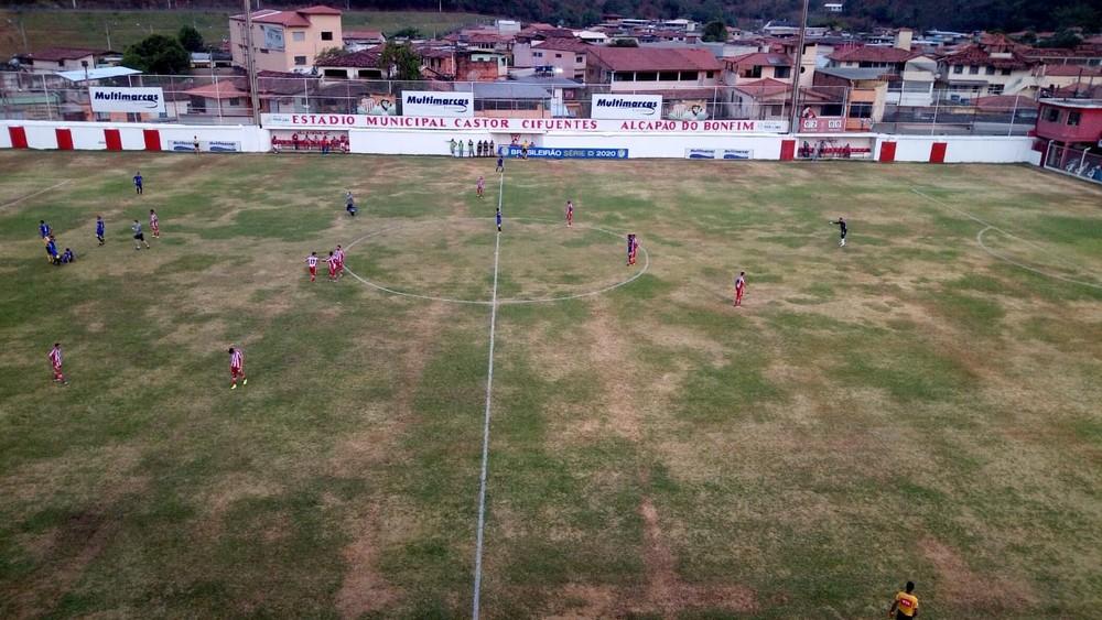Palmas estreia na Série D do Campeonato Brasileiro com derrota para o Villa Nova