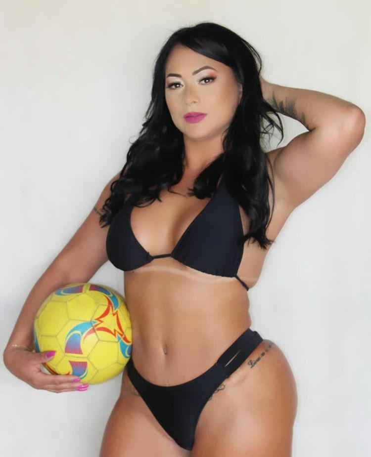 Keylla Lopez arrasa como candidata à Musa do Atlético-MG