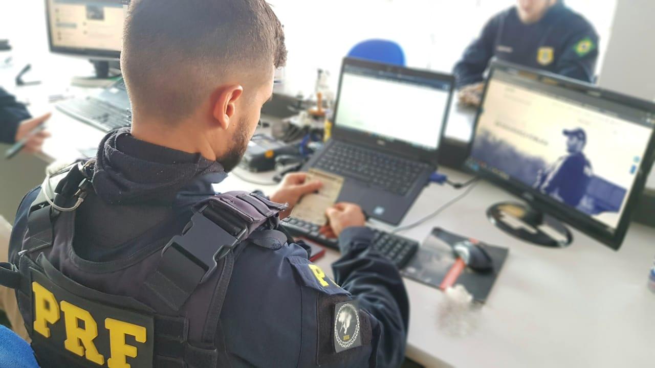PRF prende homem por uso de documento falso em Miranorte