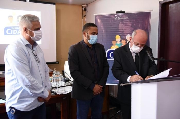 TJTO autoriza construção do novo Fórum de Cristalândia em área doada pela Prefeitura