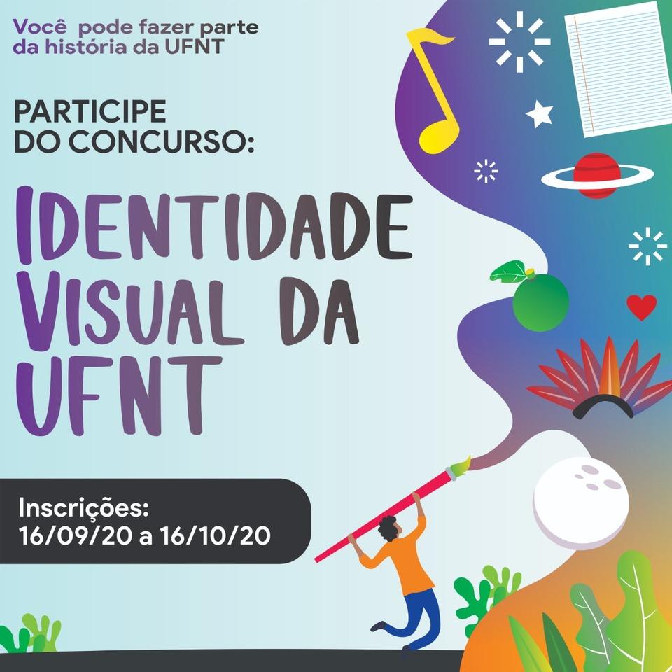 Concurso para escolha da identidade visual da UFNT abre inscrição