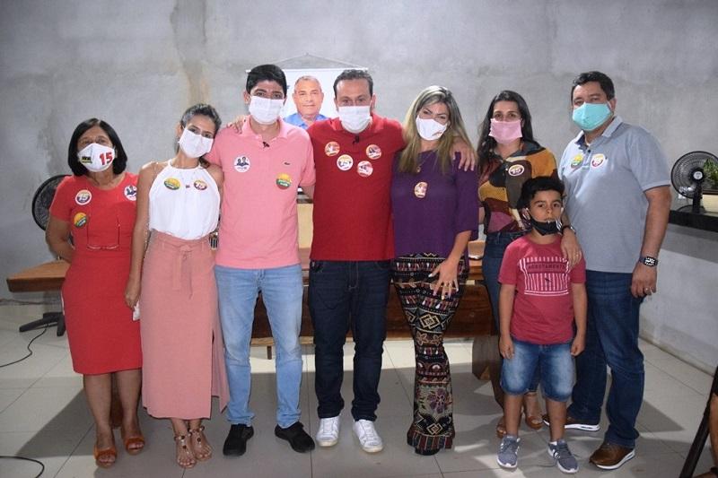 Candidato a prefeito Celso Morais recebe apoio de Dr. Danilo Alencar em Paraíso TO