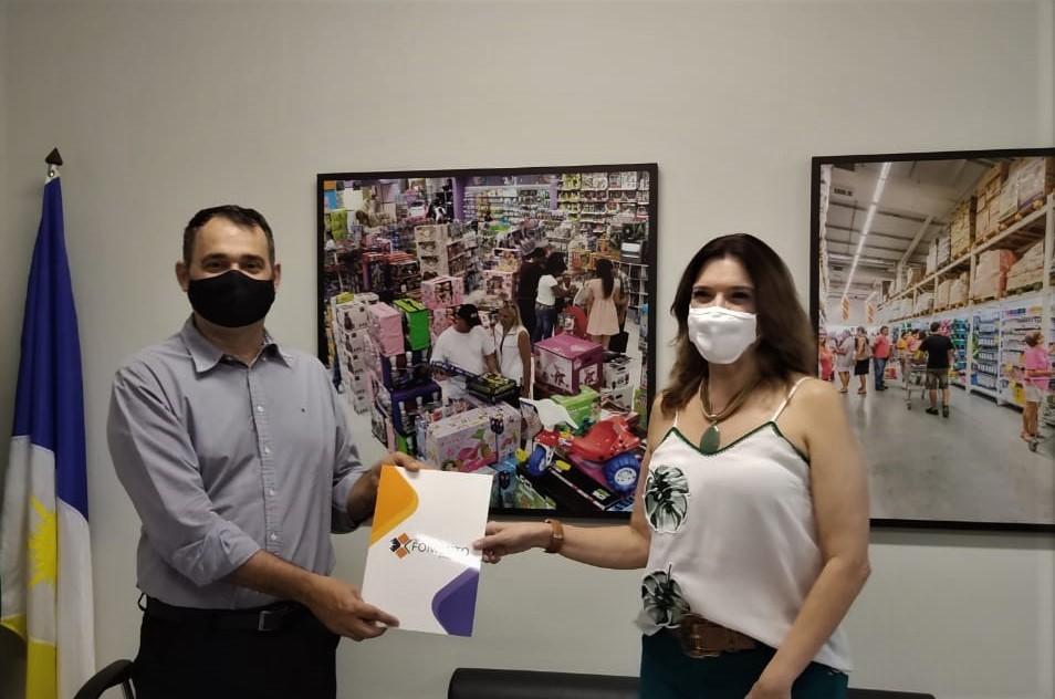 """Governo do Tocantins lança """"Crédito Empresarial"""" em parceria com a CDL de Palmas"""