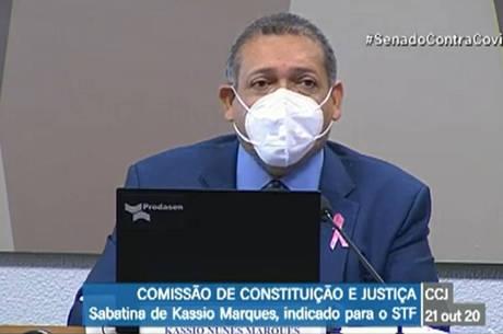 Kassio Nunes é aprovado para o STF em sabatina da CCJ do Senado
