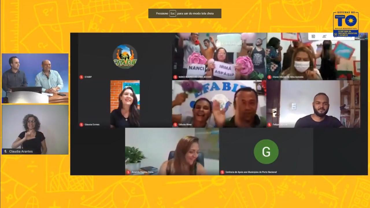 Governo do Tocantins premia 683 educadores tocantinenses com o Selo 'Quem Educa, Faz!'