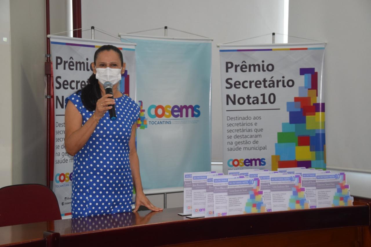 Secretária de Saúde de Paraíso é premiada por cumprimento de metas referentes a 2019 e 2020
