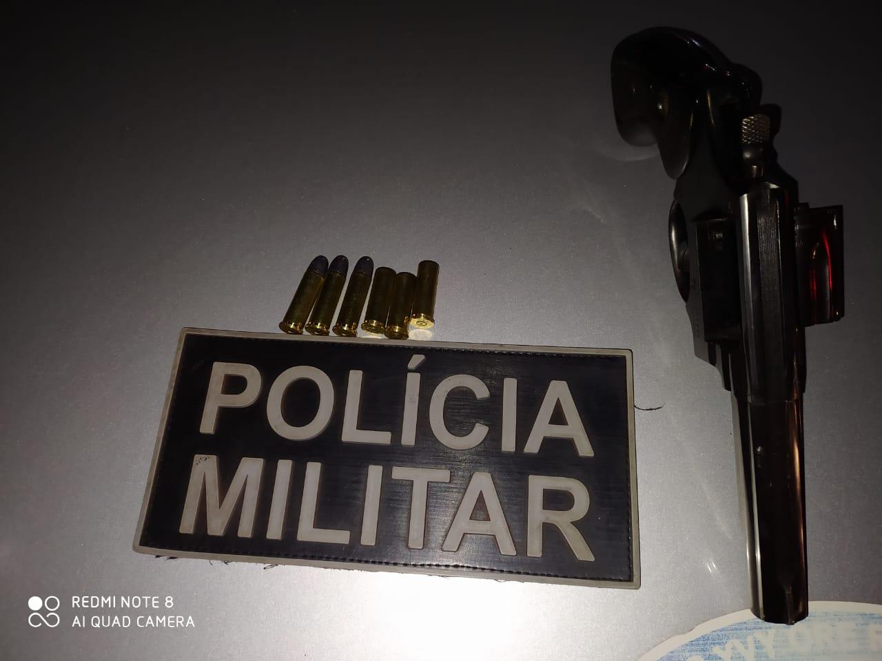 PM apreende adolescente por porte ilegal de arma de fogo  em Araguaína