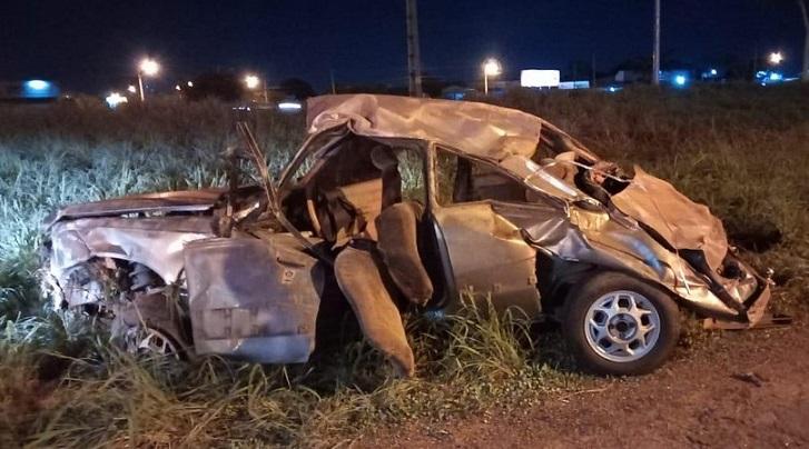 Dois militares do Exército morrem e um fica ferido após capotamento na BR-010, em Palmas