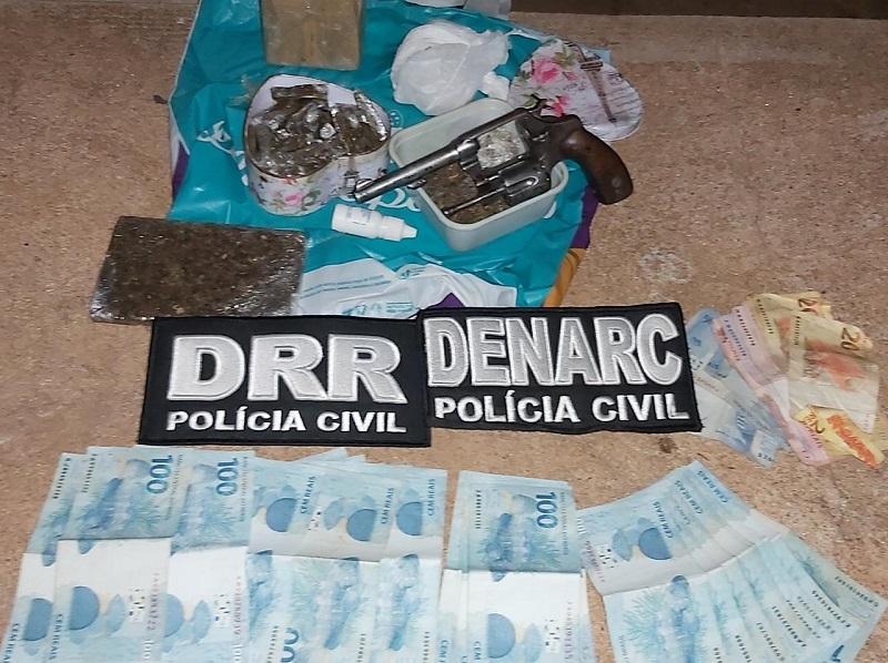 Polícia Civil deflagra 3ª etapa da Operação Hermanos prende traficante e apreende drogas em Nova Olinda
