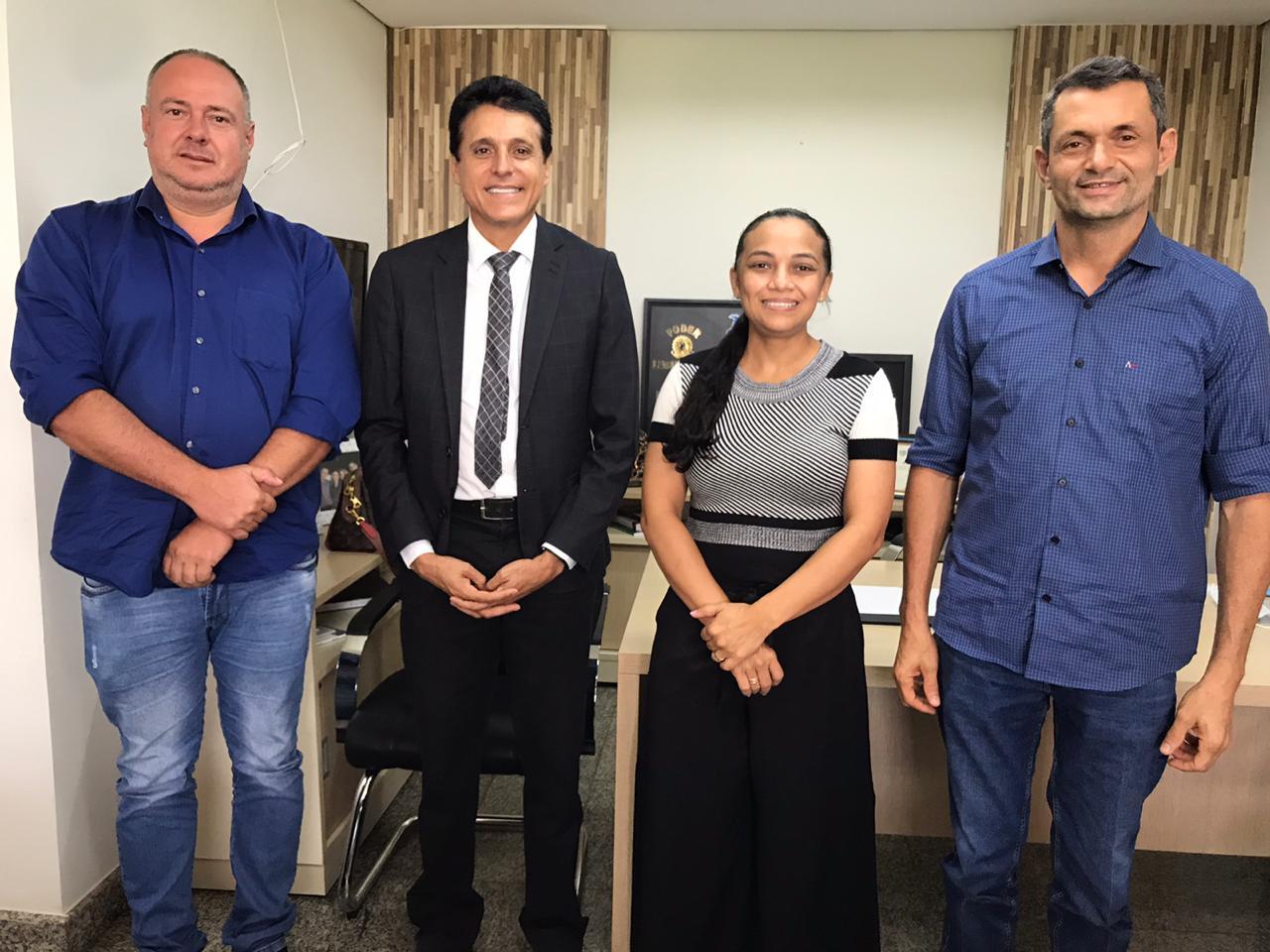 Deputado Nilton Franco irá a Brasília com 25 prefeitos eleitos no Tocantins