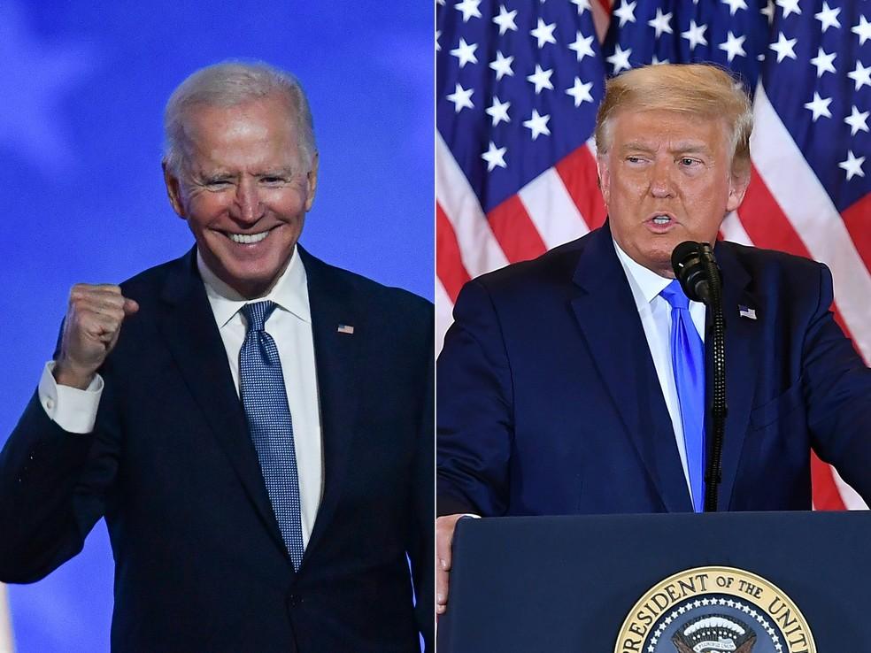 Vantagem pequena de Biden mantém indefinição após três dias