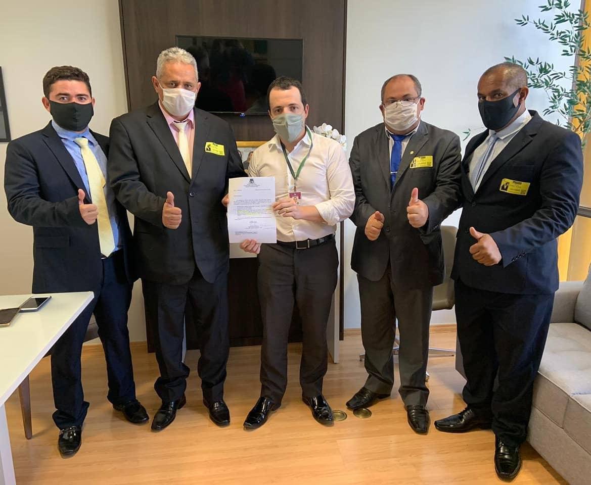Gabinete de Dulce Miranda recebe visita de prefeito e vereadores eleitos em Arapoema