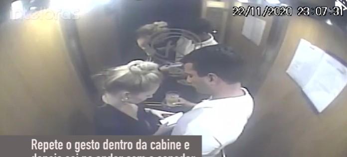 Imagens de câmeras de segurança contradizem versão de modelo que acusa senador Irajá de estupro