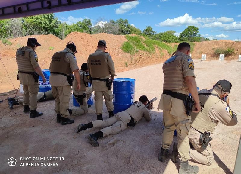 Polícia Militar promove instrução de tiro em Paraíso com uso de fuzil para seu efetivo