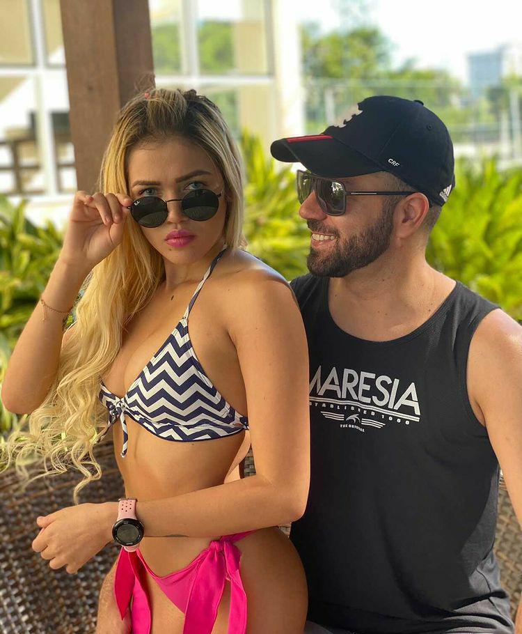 Natália Vasconcelos comemora 2 meses de namoro com executivo