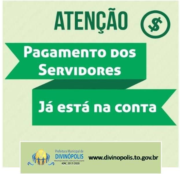 Prefeitura de Divinópolis paga folha de novembro dos servidores públicos municipais