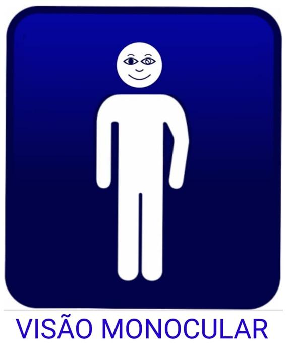 Símbolo da pessoa com Visão Monocular é instituído em Miracema
